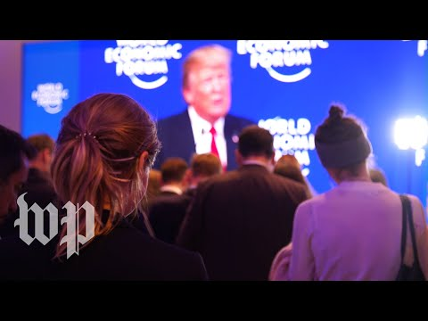 Davos Notebook: How people reacted to Trump's speech