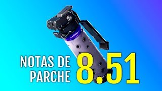 LEYENDO NOTAS DEL PARCHE 8.51 FORTNITE BATTLE ROYALE Y SALVA EL MUNDO