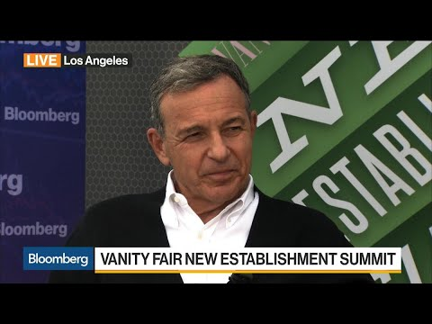 Disney's Iger on Streaming Apps, ESPN, Acquisitions