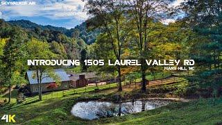 1505 Laurel Valley Road | Mars Hill, NC  - Real Estate Drone Video | 4K