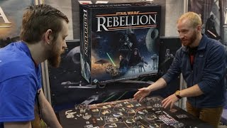 Star Wars Rebellion Board Game Live Demo   Adepticon 2016
