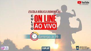 CULTO ONLINE - DOMINGO MANHÃ - 09/08/2020