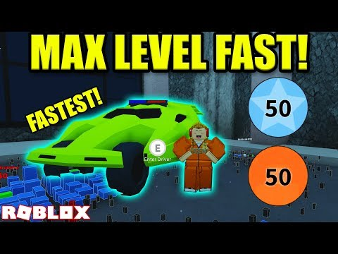 HOW TO GET TO MAX LEVEL IN UNDER 60 MINUTES *CODES*   Roblox Jailbreak Winter Update