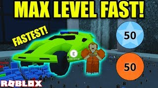 HOW TO GET TO MAX LEVEL IN UNDER 60 MINUTES *CODES* | Roblox Jailbreak Winter Update