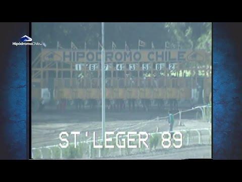 St Leger 1989 - Carpinello - Joao Castillo