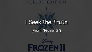 Download lagu I Seek the Truth (From