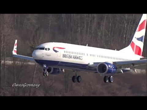 1st British Airways Boeing 737-800 Finishing Test Flight @ KBFI Boeing Field