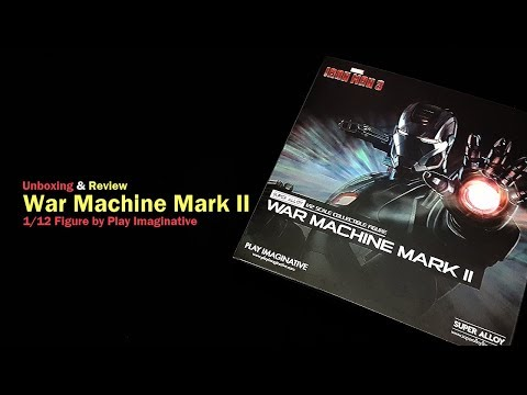 Unboxing & Review War Machine Mark II Skala 1/12 Super Alloy Bikinan Play Imaginative