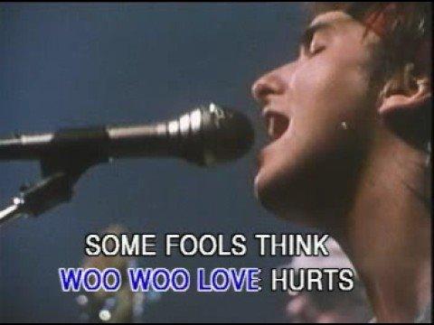 Love Hurts - Nazareth - Karaoke - Original Footage