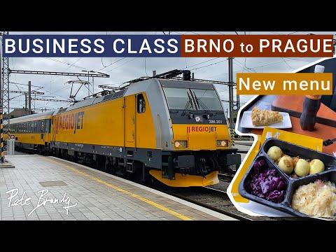 TRIP REPORT | RegioJet (Business class) | Brno to Prague