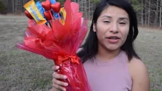 DIY Valentines Day Gift Chocolate Bouquet