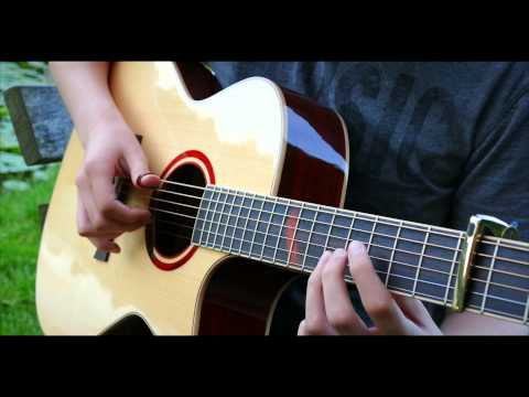 Kick the Dust Up - Luke Bryan [Fingerstyle Guitar Cover by Eddie van der Meer]