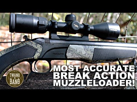 Most Accurate Break Action Muzzleloader! CVA Accura PR