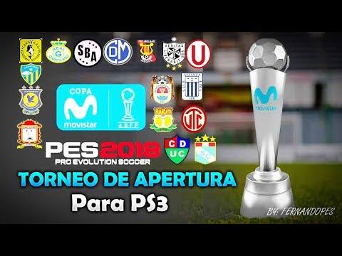 COPA MOVISTAR Torneo de Apertura para PES 2018 en PS3 (Blus y Bles) + Tutorial Completo