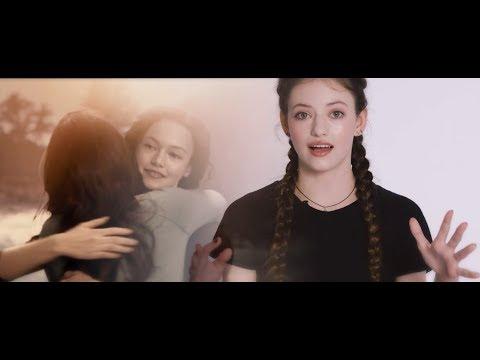 Mackenzie Foy  Twilight Breaking Dawn Part 1&2 VS. Now