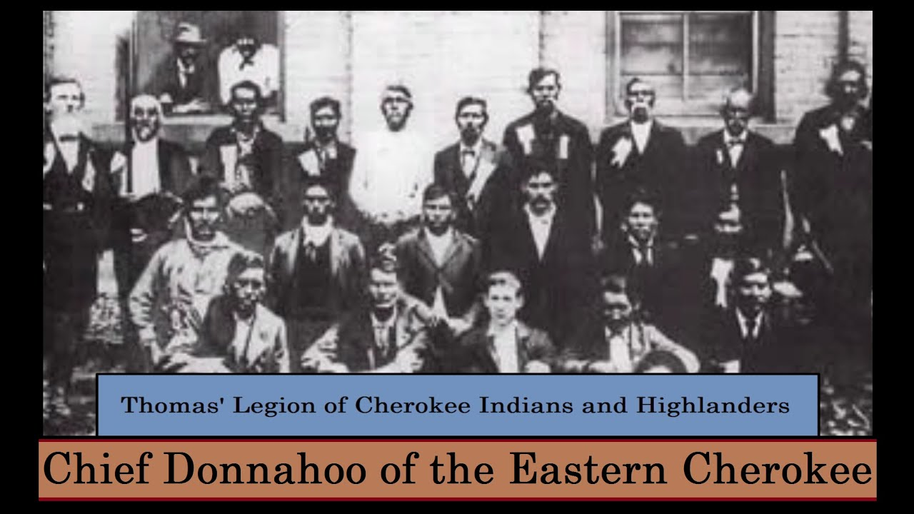 Chief Donnahoo of the Eastern Cherokee