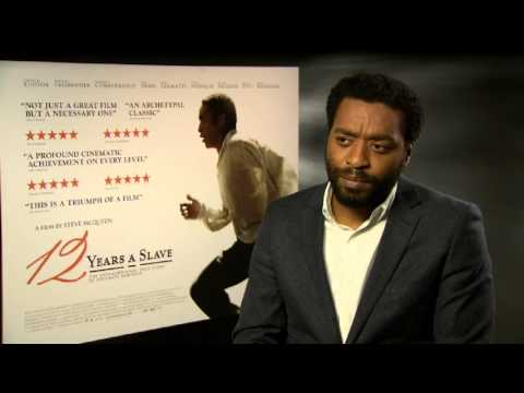 12 Years a Slave - Chiwetel Ejiofor Interview (Oscar Winner)
