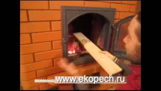 Как построить небольшую печь с супертопкой. обзор(Старую печь топили 6-8 часов, её снесли и построили новую, теперь 1 час топят и сутки тепло! О Фундаментах:..., 2013-01-31T13:48:25.000Z)