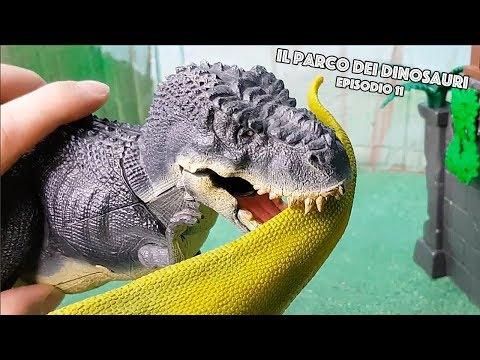 Lezione di Caccia con il Professor Indominus Rex [Il Parco dei Dinosauri 🐾 Episodio 11]