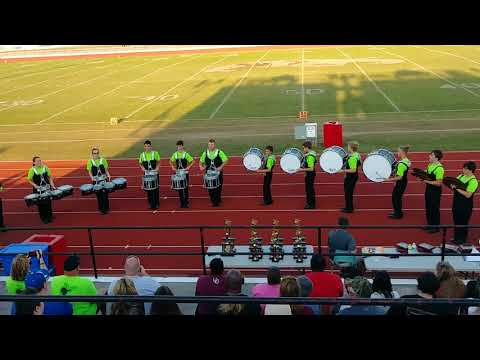 Pocahontas High School Drumline Performance, SEMBDA Competition, Sikeston, MO 2017