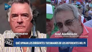 Dirigentes tucumanos opinan sobre las fotos de referentes del PJ