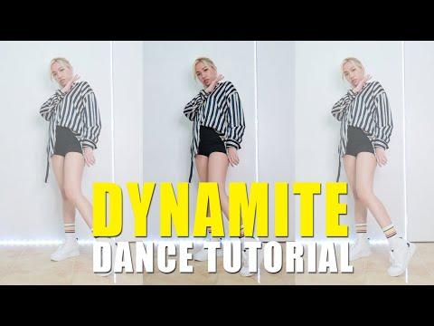 DYNAMITE Dance Tutorial (Step-by-step) | Rosa Leonero