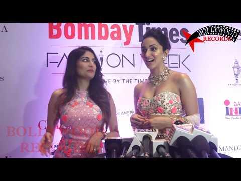 Kiara Advani HOT CLEAVAGE Show | FULL INTERVIEW | Bombay Times Fashion Week 2018 thumbnail