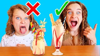 """""""Biggy's Out!"""" IN OR OUT MILKSHAKE Challenge By The Norris Nuts"""