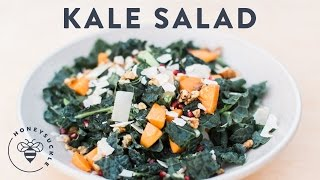 Winter Kale Salad from the Urban Homestead - Honeysuckle