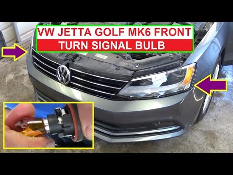 Volkswagen Jetta Golf 2012 2017 Brake Light Replacement