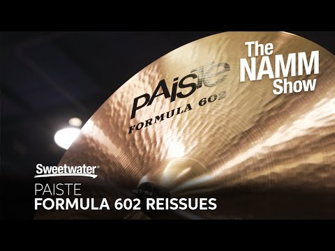 Paiste Cymbal Booth at Winter NAMM 2020