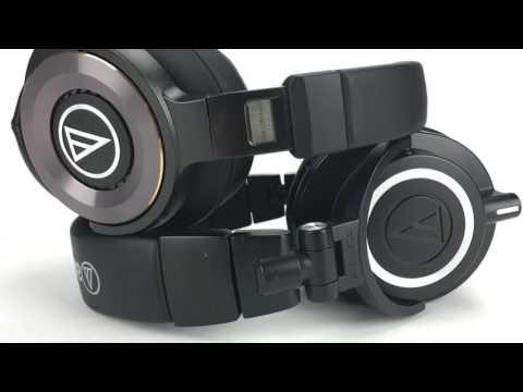 Audio Technica ATH WS1100iS VS ATH M50x