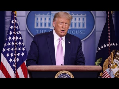 President Trump discusses economy, coronavirus, 2020 race, and more with reporters