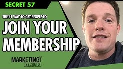 Secret #57: The #1 Way To Get Thousands Of People To Join Your Membership Site Fast