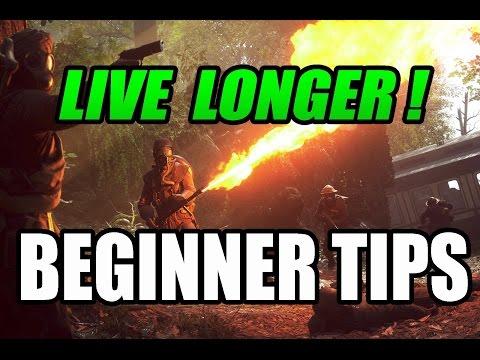 BATTLEFIELD 1 - Beginner Tips - How To Live Longer & Kill More
