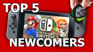 Top 5 Most Wanted NEWCOMERS - Super Smash Bros NINTENDO SWITCH