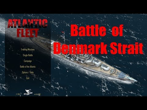 Let's Play Atlantic Fleet : Battle of Denmark Strait (British Side)