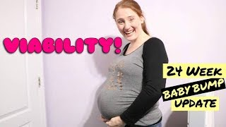 Protein in Urine + Viability || 24 WEEKS PREGNANT UPDATE