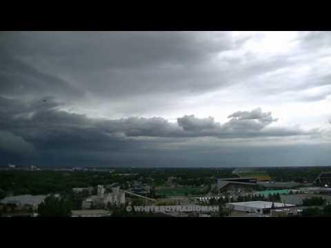 Quick Timelapse of Edmonton Thunderstorm  - June 20, 2017