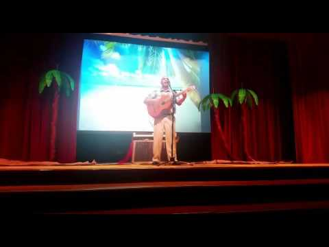 Joaquin - Cover Cancion Boricua en La Luna - at Ramey School Volunteers Awards Ceremony