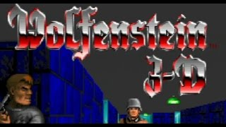 Wolfenstein 3D on PS3 in HD 720p