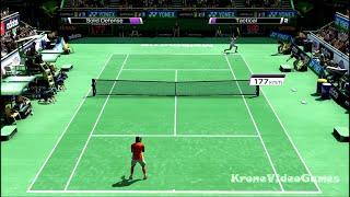 Virtua Tennis 4 Gameplay (PC/HD)