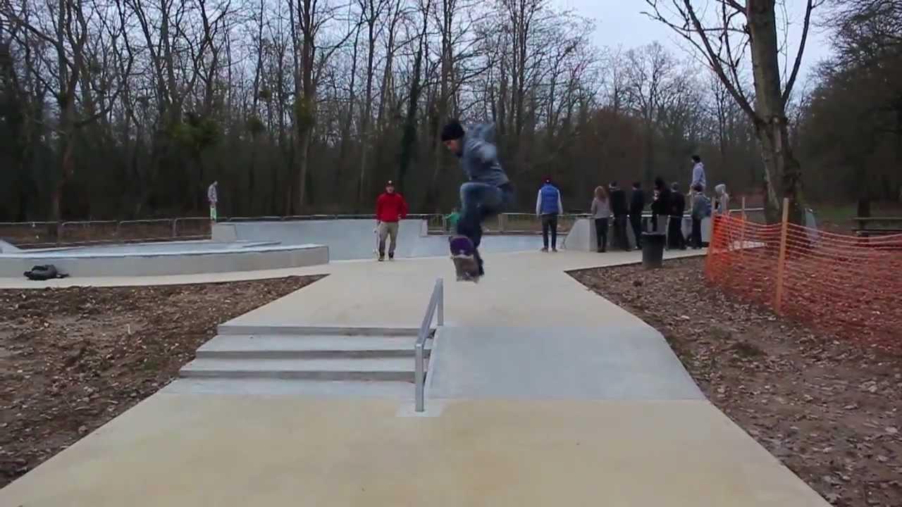 Session Bois le Roi  YouTube ~ Skatepark Bois Le Roi