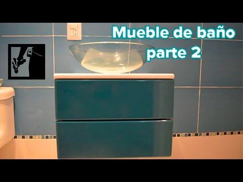 Como hacer un mueble de ba o flotante parte 2 youtube - Hacer mueble de bano ...