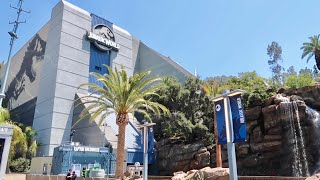 Jurassic World Walls Are Down amp Ride Testing - Universal Studios Hollywood Construction Update