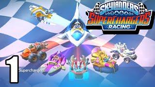 Skylanders: SuperChargers Racing Walkthrough - (Wii/3DS) - Part 1: The Glorious Tour