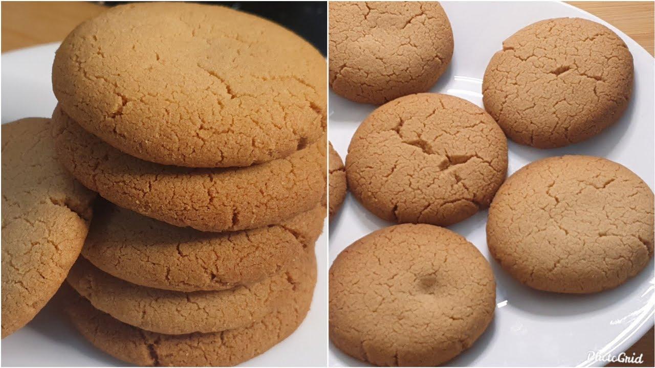 Peanut Butter Cookies Recipe♥️ | Bakery Jaise Biscuits Ghar Par Banayein