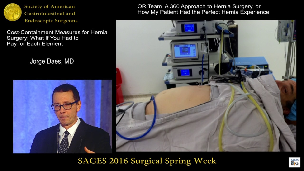 Cost containment in hernia repair from the SAGES Video Library