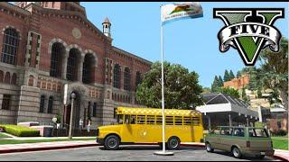 Video GTA V Mods - Motorista ônibus escolar /  School Bus Driver download MP3, 3GP, MP4, WEBM, AVI, FLV Januari 2018