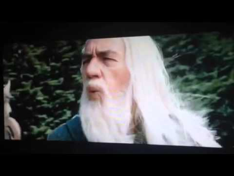 Gandalf The White Whistling  FamousLordBrysonFreeman